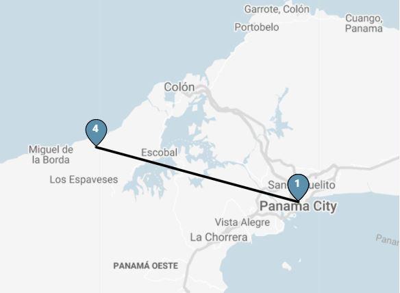 8 Day Panama: Pirates & Caribbean