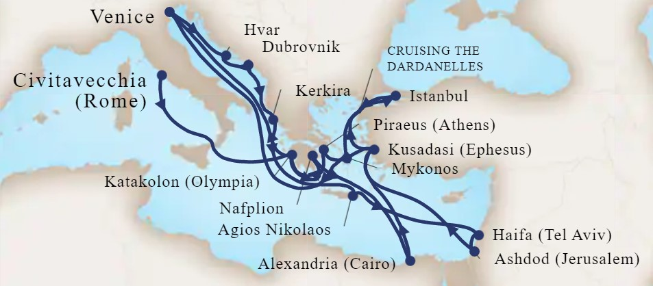 28 Night Ancient Mysteries, Kingdoms & Holy Land Explorer