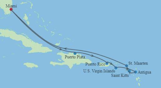 10 Night Eastern Caribbean