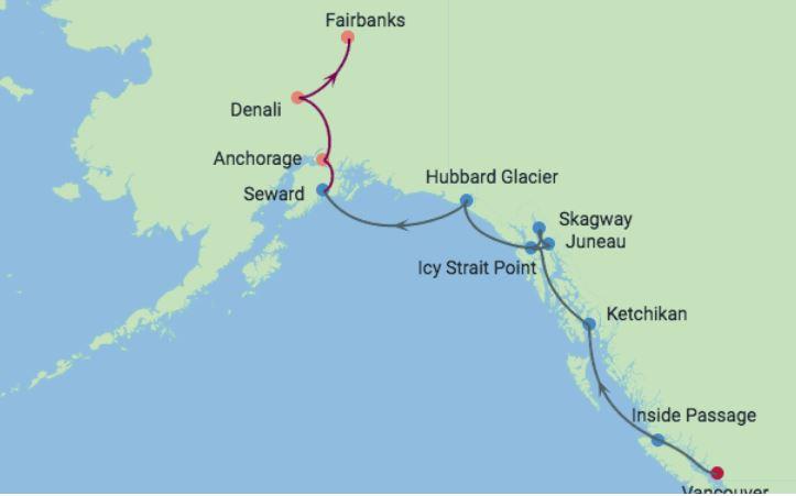 11 Night Alaska Cruisetour