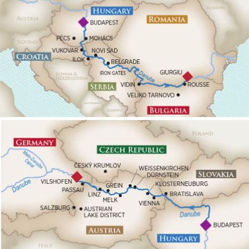14 Night Grand Danube