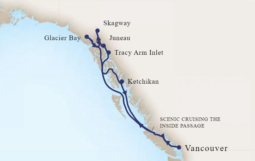 8 Night Alaskan Inside Passage