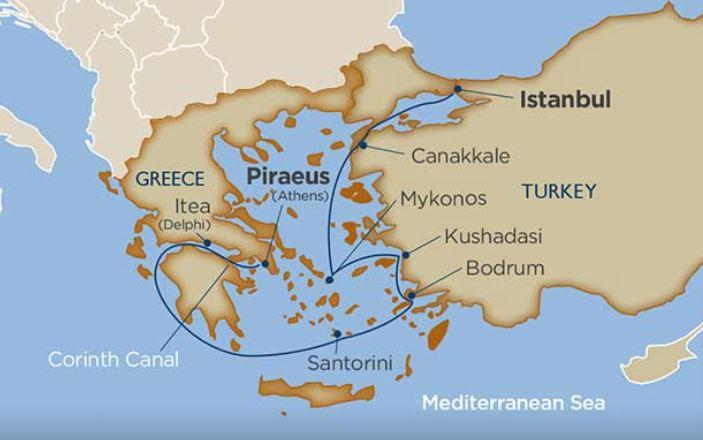 9 Night Aegean Sea Odyssey