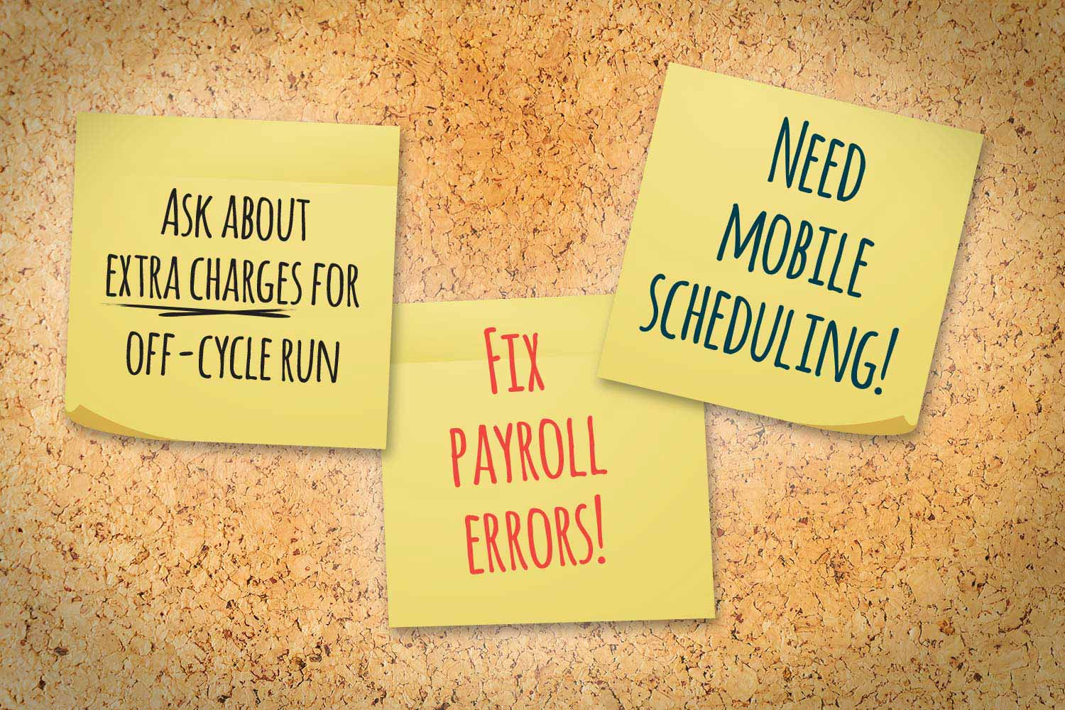 Tell-tale signs it's time to terminate your current payroll solution