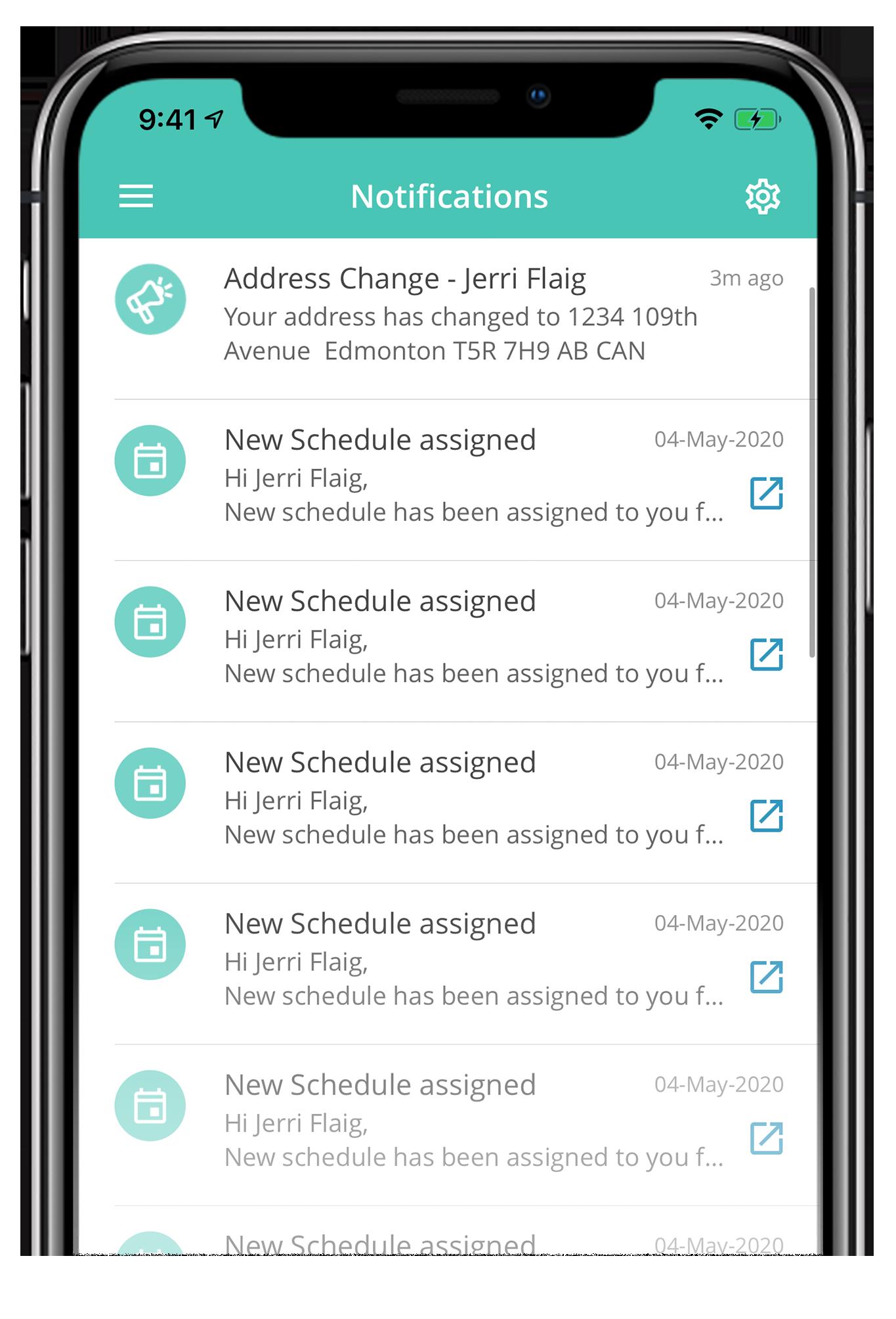 iPhone screenshot of Avanti Go