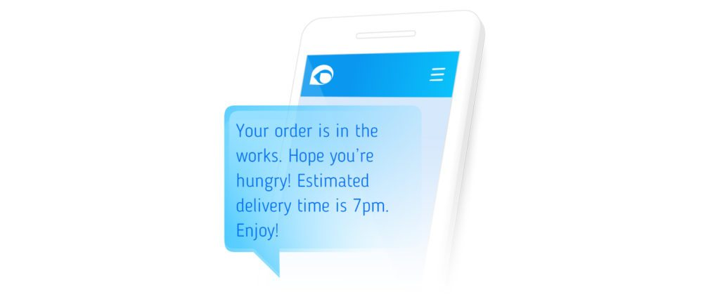 order message confirmation