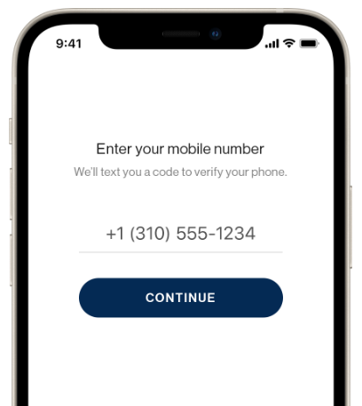 PhoneID phone number for secure account recovery