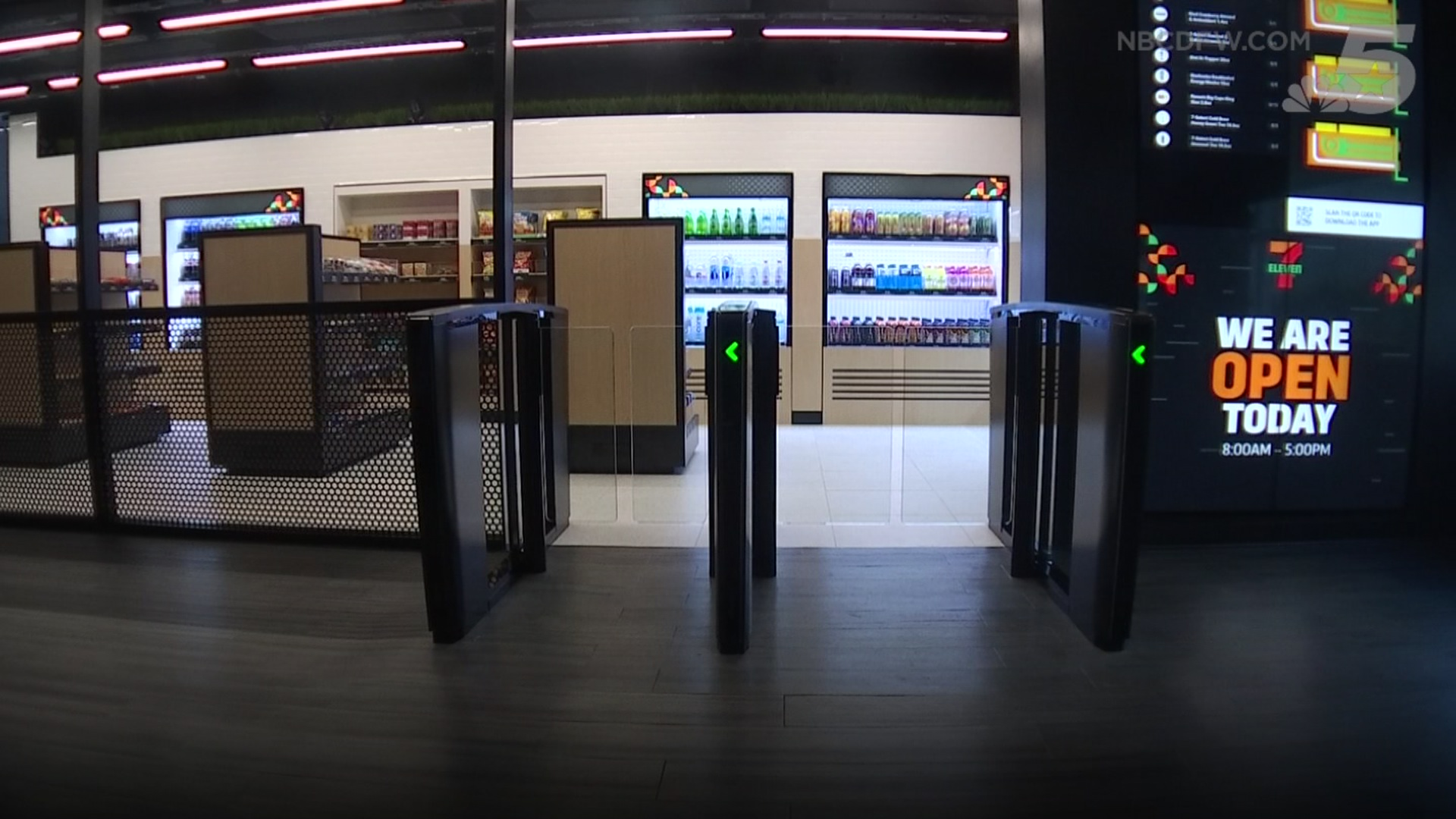 Image result for 7/11 cashier less stores