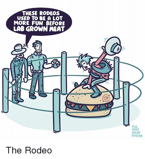 Image result for lab grown meat cartoon