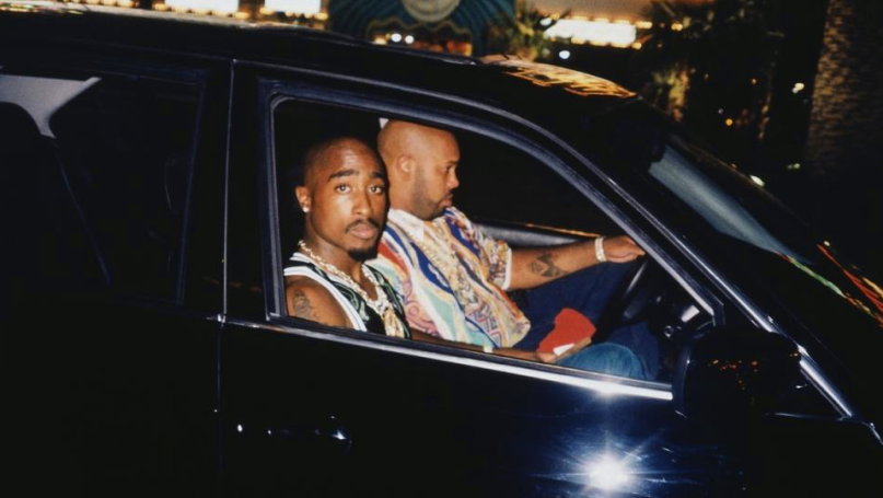 Image result for tupac suge knight driving