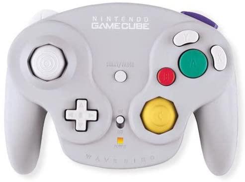 Gamecube Wavebird Wireless Controller Grey, Silver, Compatible ...