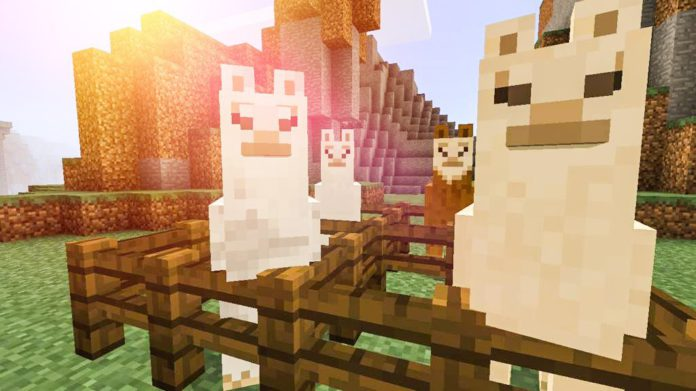 how-to-ride-a-llama-in-minecraft