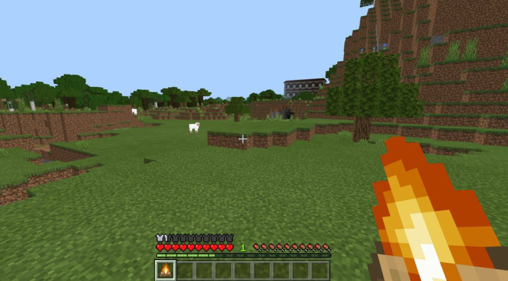 how-to-make-a-campfire-in-minecraft-step4