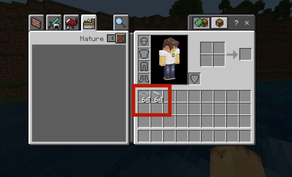 how-to-make-glass-panes-in-minecraft-step4