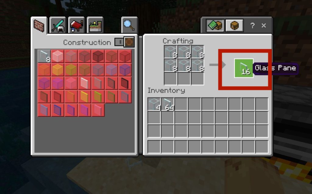 how-to-make-glass-panes-in-minecraft-step3