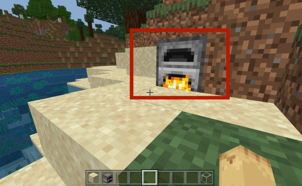 how-to-make-glass-in-minecraft-step2