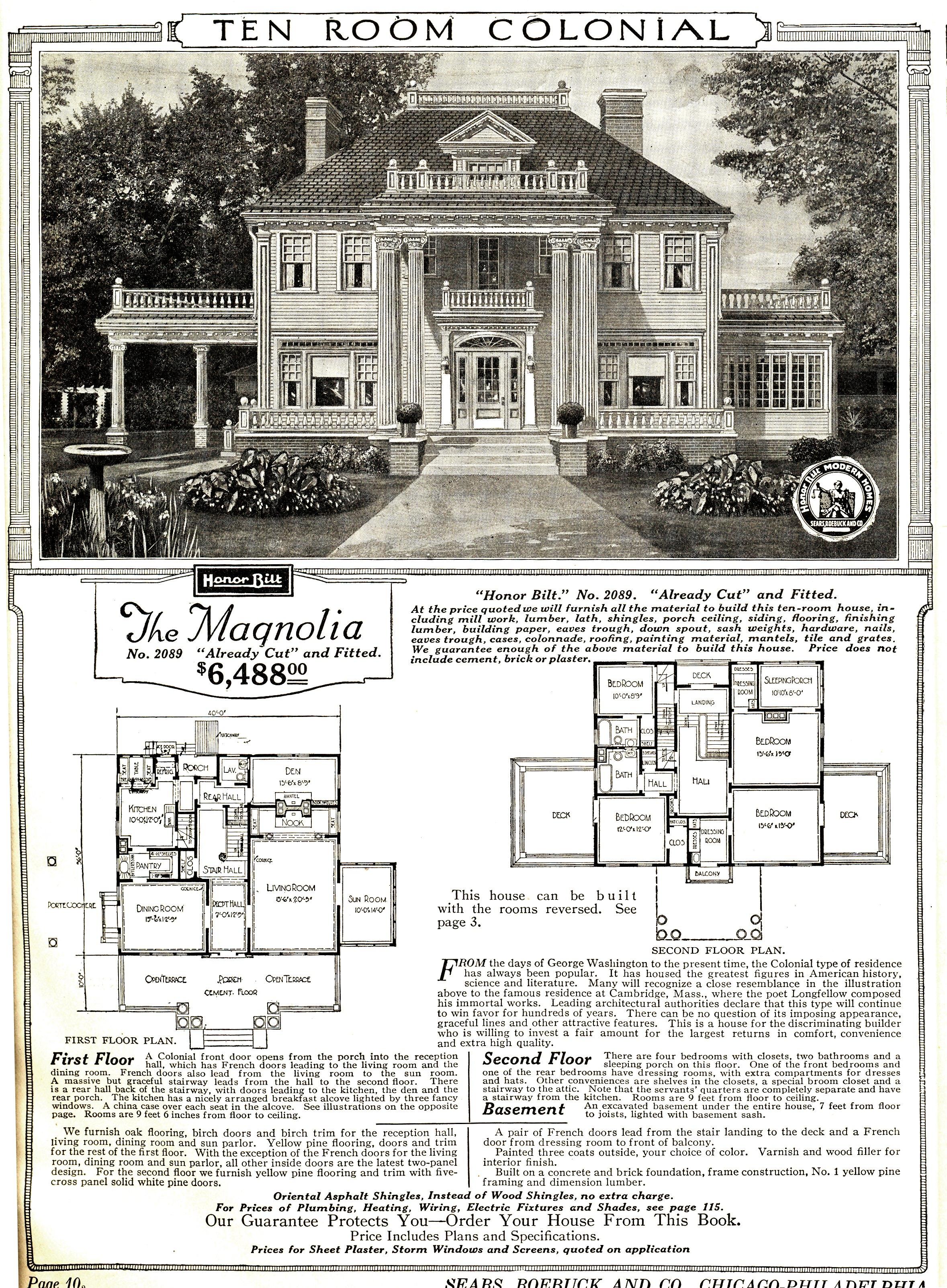 By Sears Modern Homes(Life time: 1921) - Original publication: 1921 Sears Modern Homes CatalogImmediate source: Original publication, PD-US-expired,
