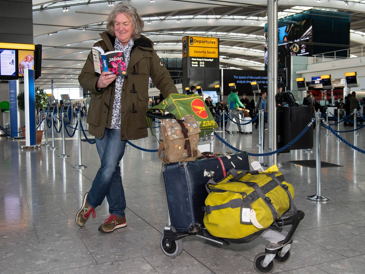 The Grand Tour James May at the airport