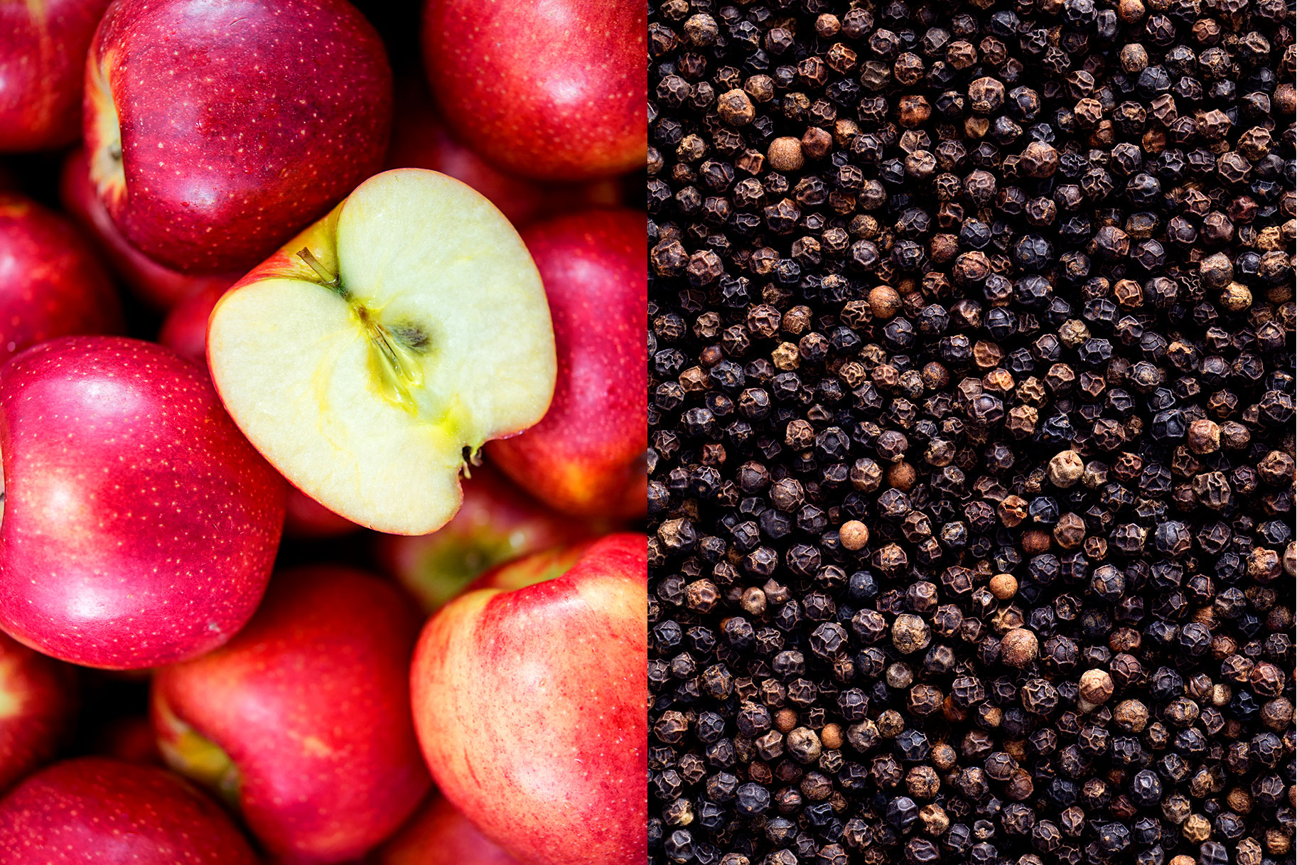 Apples and Black Pepper