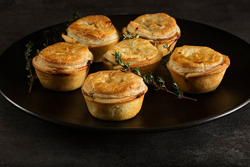 Mini Pies Office Catering