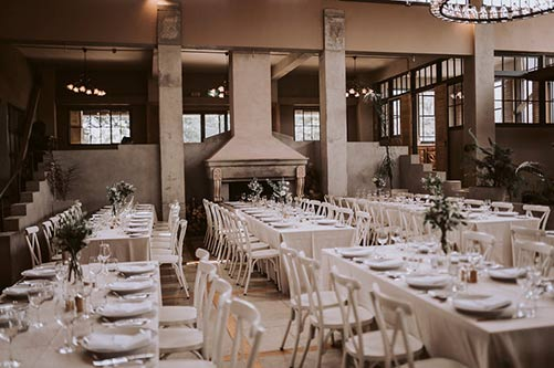 Milk station wedding