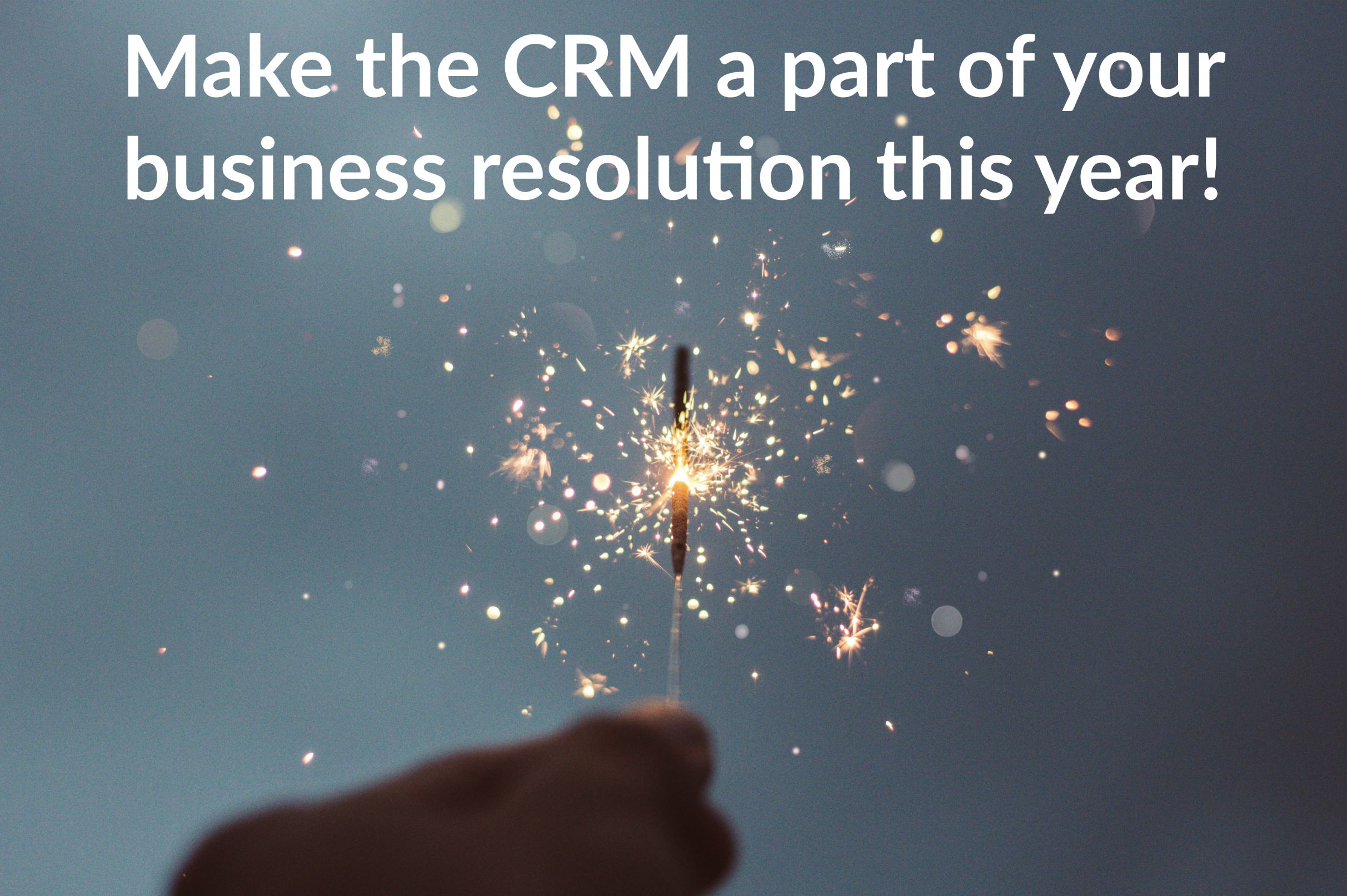 Make the CRM a part of your business resolution this year!