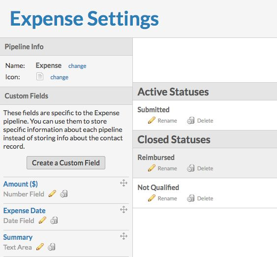 Expense Template