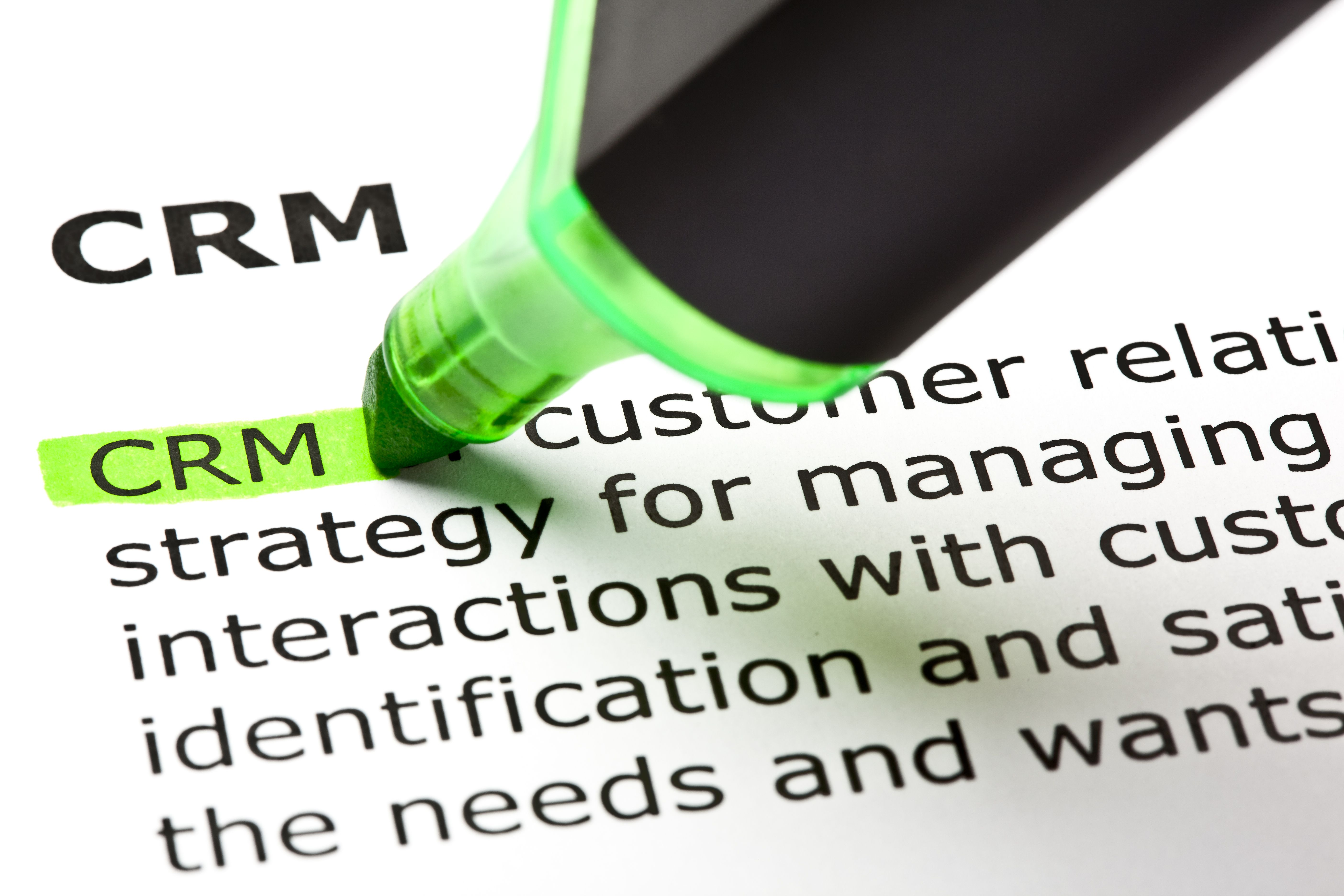 What is an operational CRM?