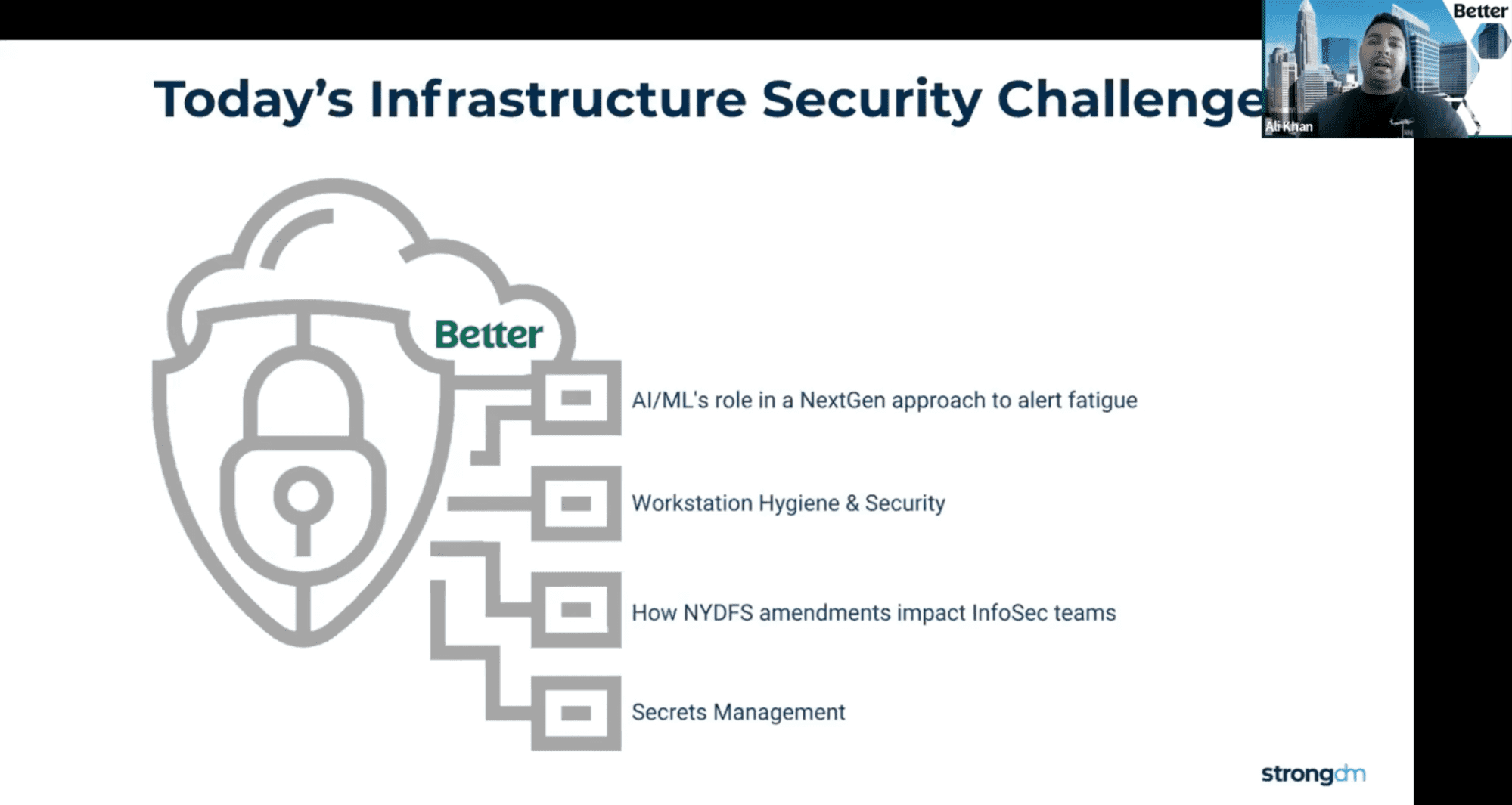 Better is tackling modern infrastructure security challenges.