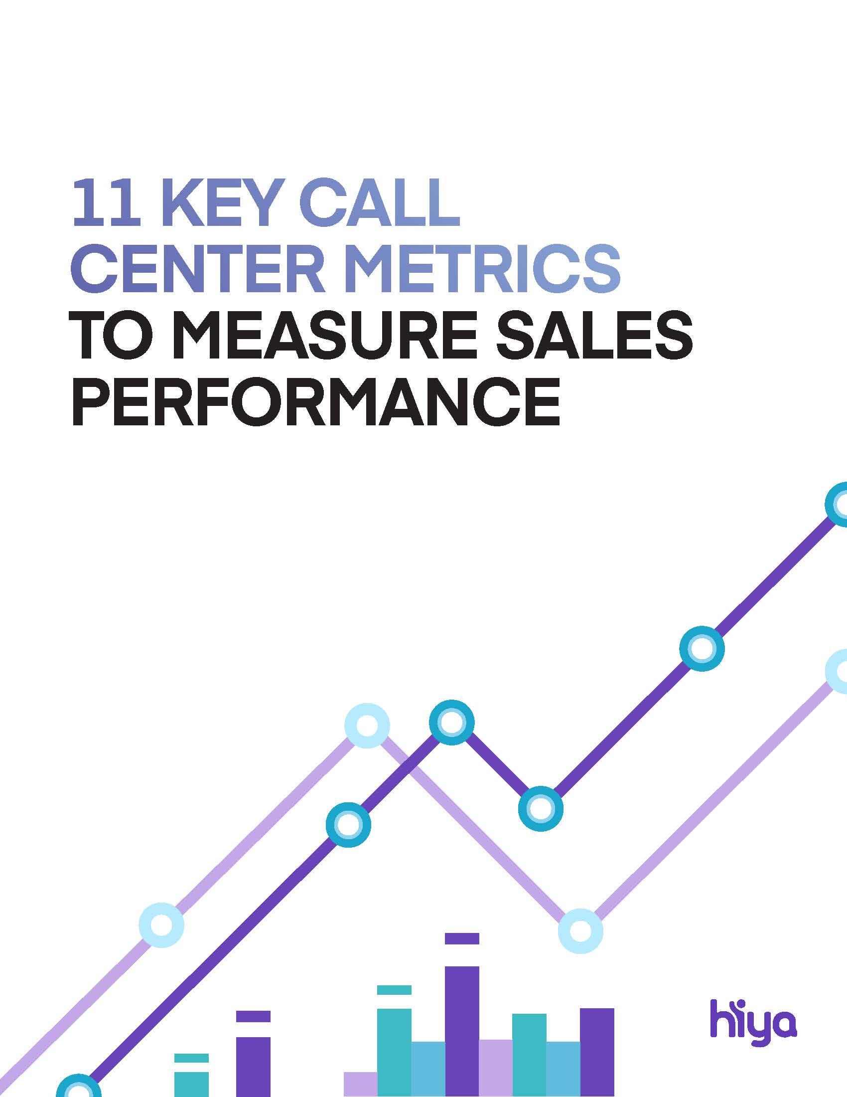 Call center metrics ebook cover