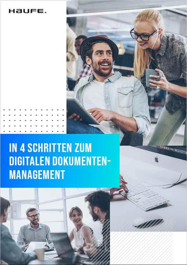 In vier Schritten zum digitalen HR-Dokumentenmanagement