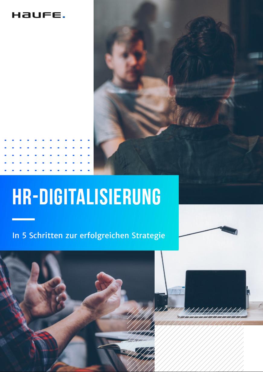 In 5 Schritten die richtige HR-Digitalisierungs-Strategie
