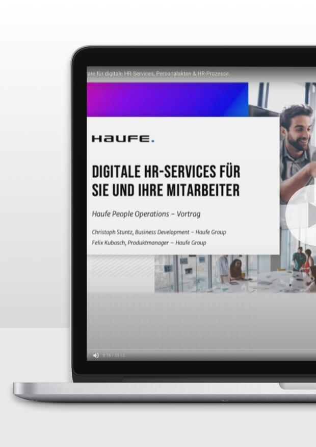 Die Haufe People Operations Plattform live