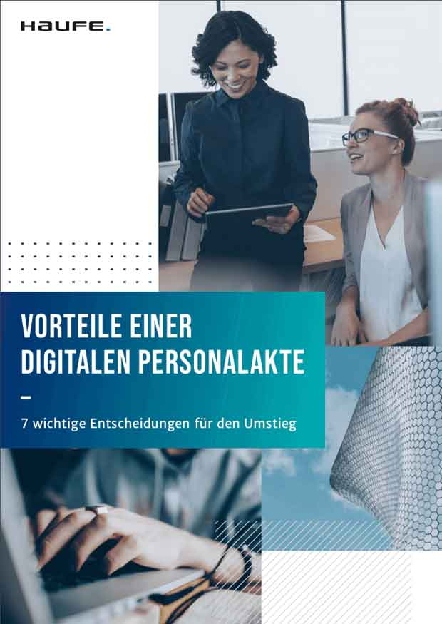 Whitepaper: 7 Entscheidungen für den Umstieg auf eine digitale Personalakte