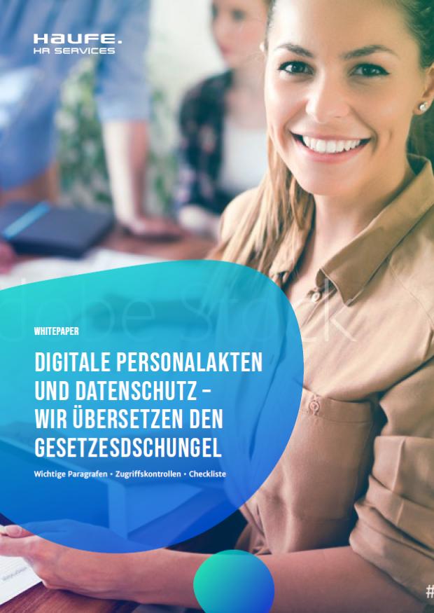 Whitepaper: Digitale Personalakte und Datenschutz