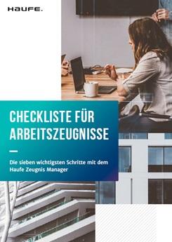 Checkliste: Der optimale Arbeitszeugnis-Prozess