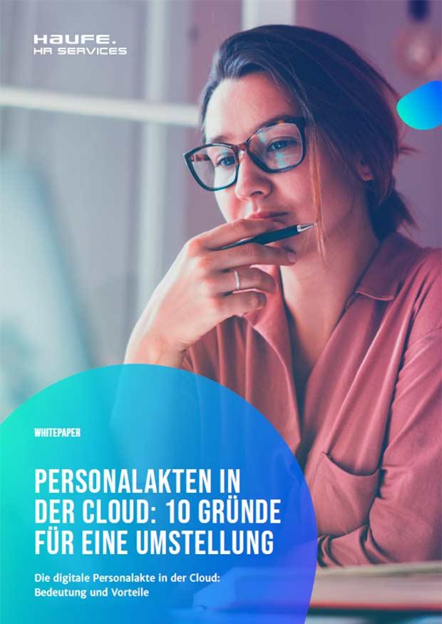 Whitepaper: Personalakte in der Cloud: 10 Vorteile