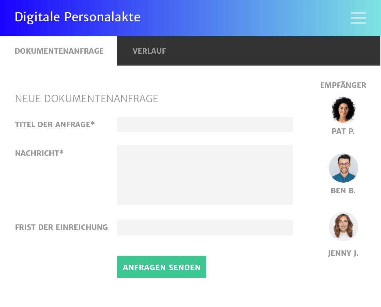 Kommunikation über alle Abteilungen hinweg – Haufe Digitale Personalakte