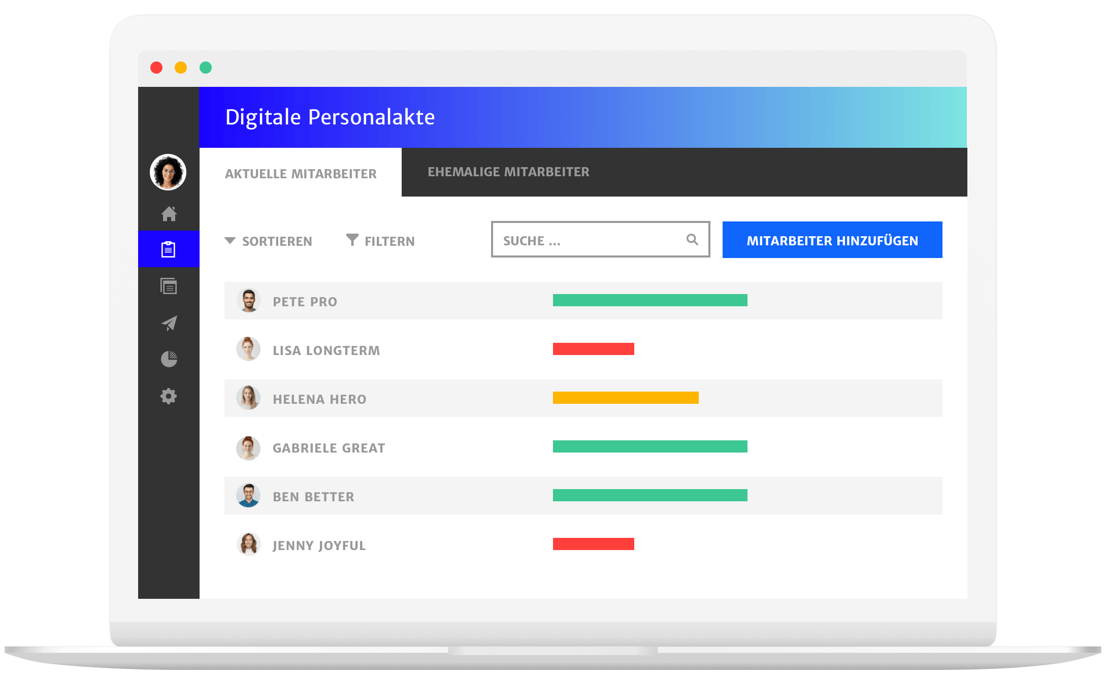 Digitale Personalakte in Haufe People Operations