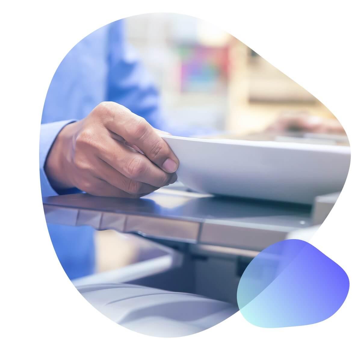 Scan Servicen von Akten durch Haufe HR Services