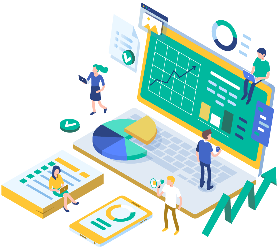 marketing agency analytics computer