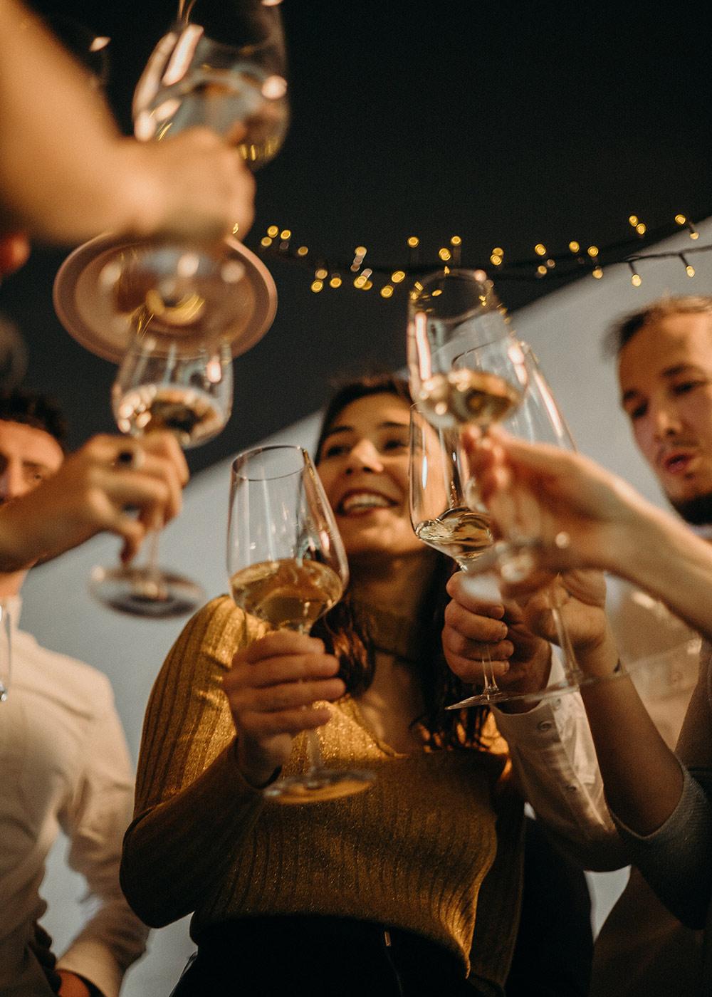 Cheers Wine Glasses