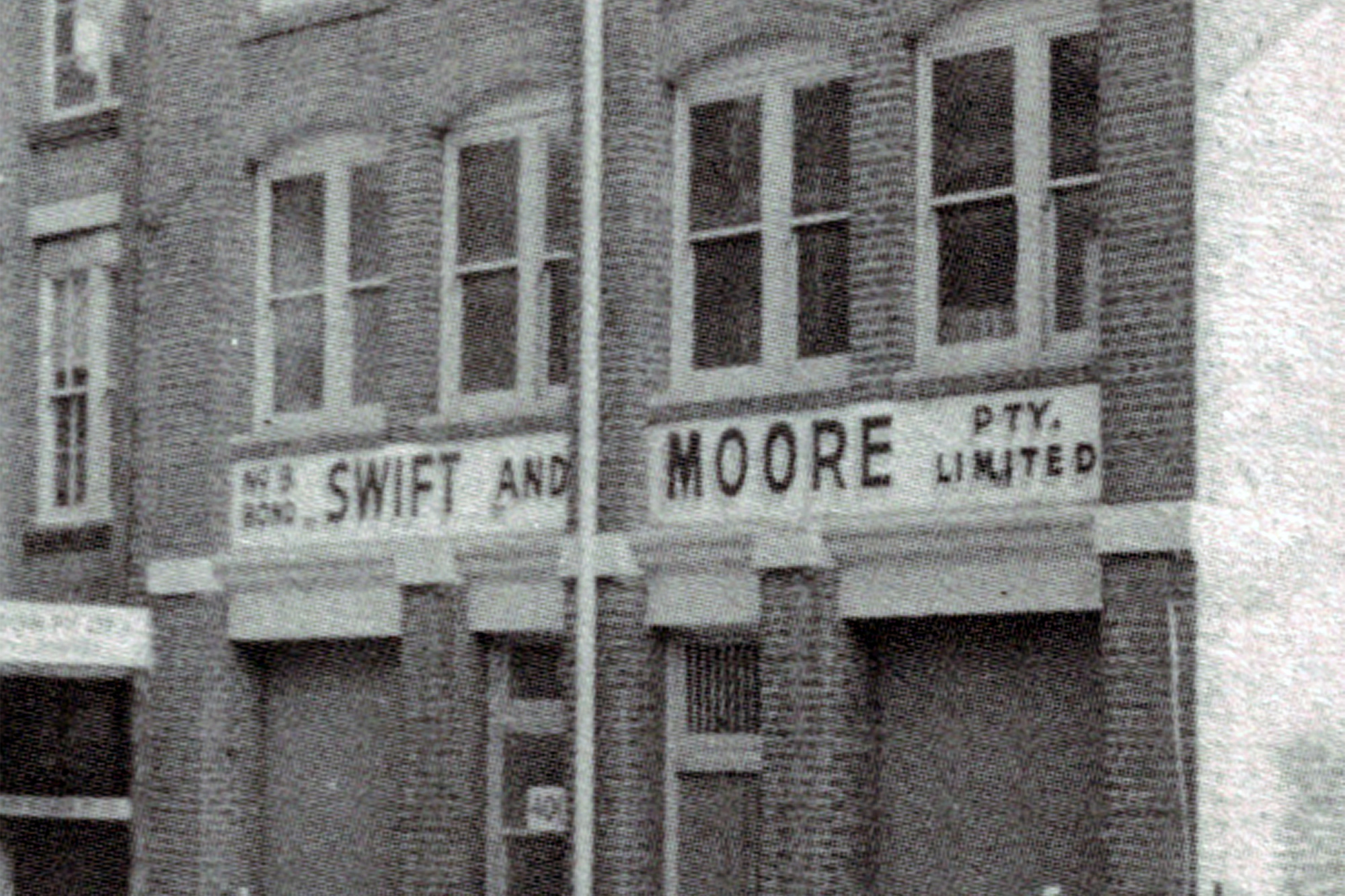 Swift + Moore Beverages Historial Image