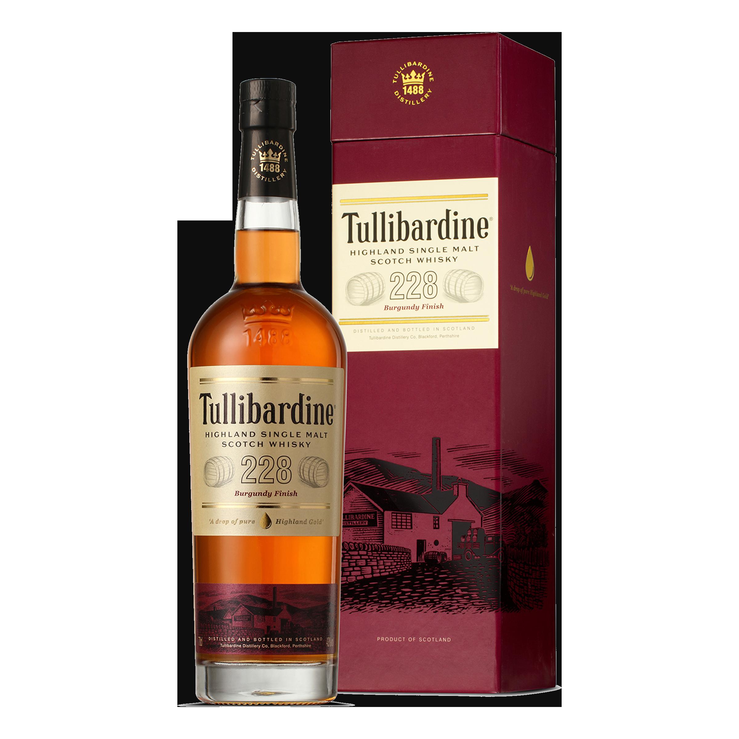 Tullibardine Burgundy Finish 228 700ml Boxed