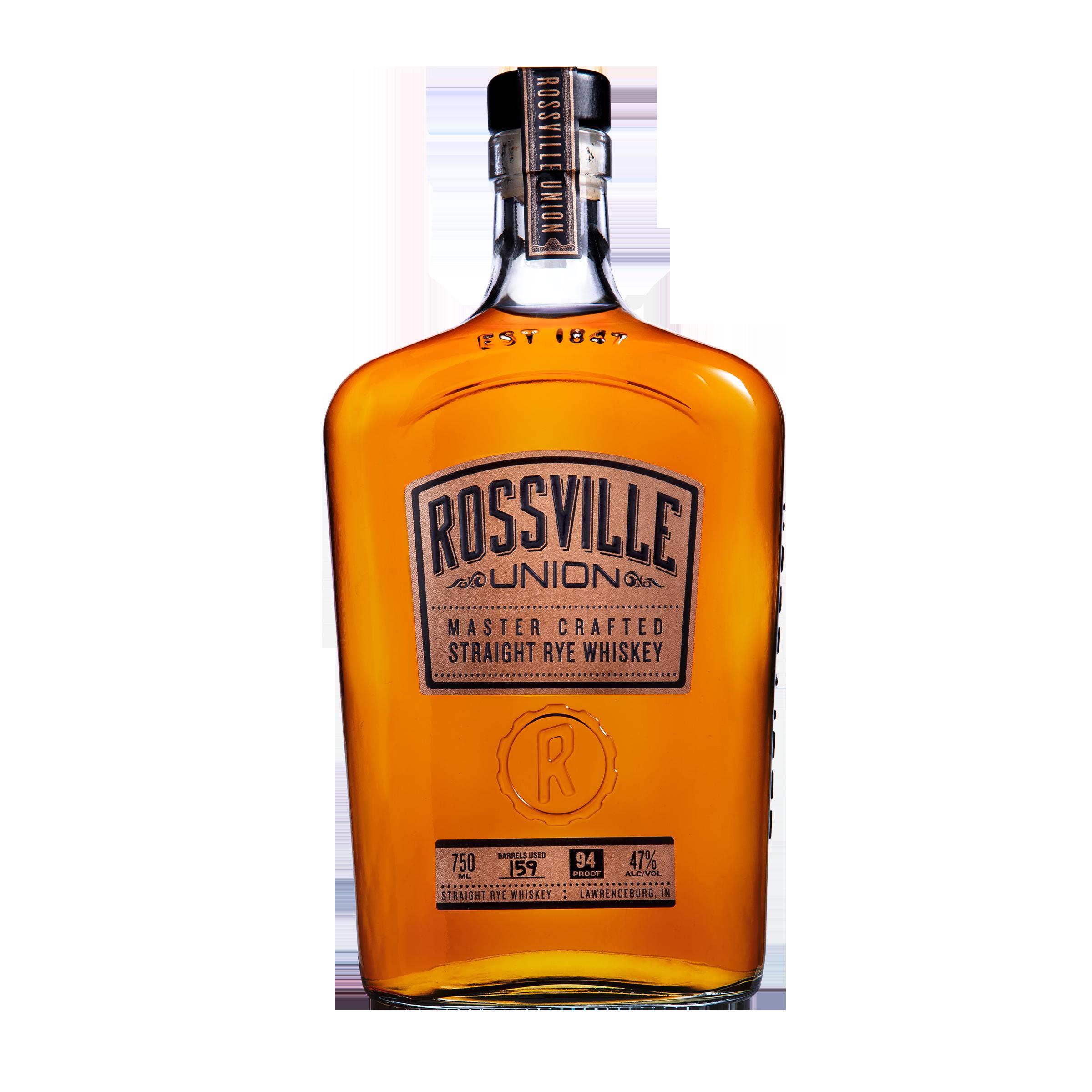 Rossville Union Straight Rye 750ml
