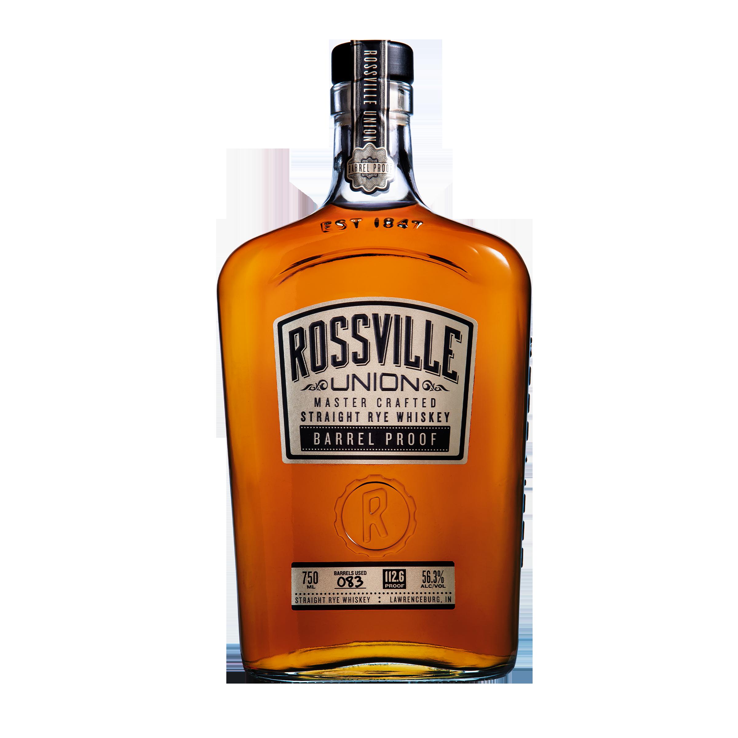 Rossville Union Rye Barrel Proof  750ml