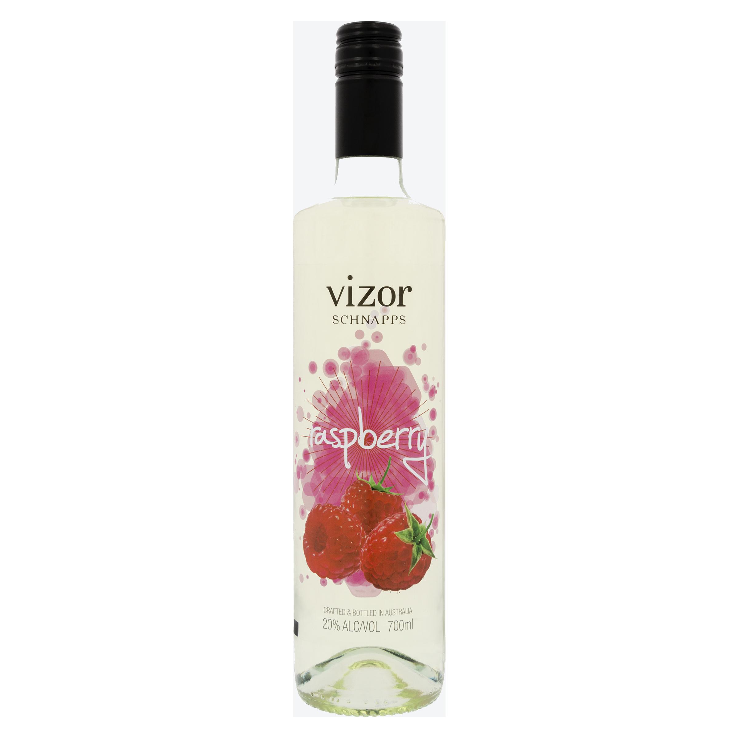 Vizor Raspberry Schnapps 700mL
