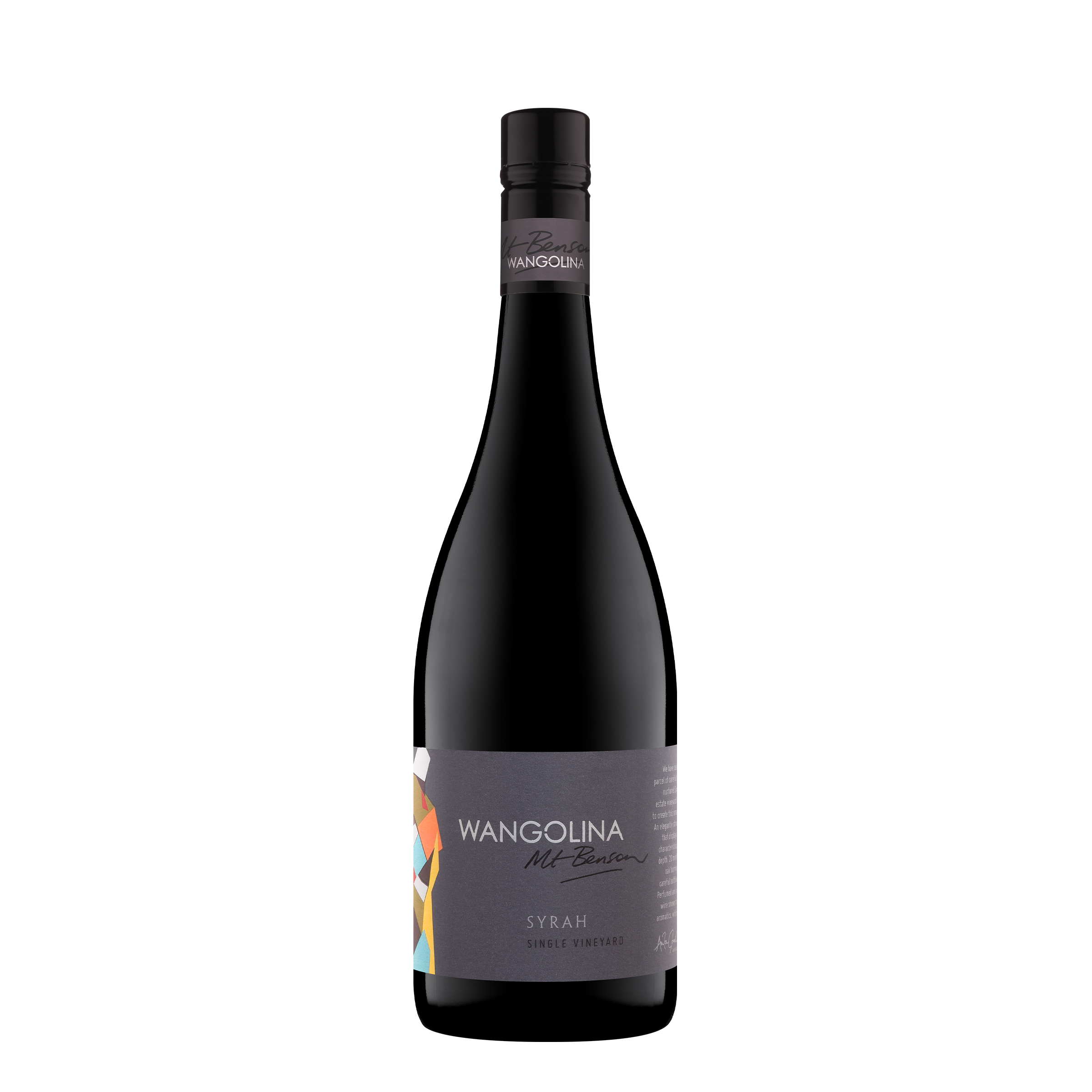 Wangolina Single Vineyard Syrah 750ml 2015