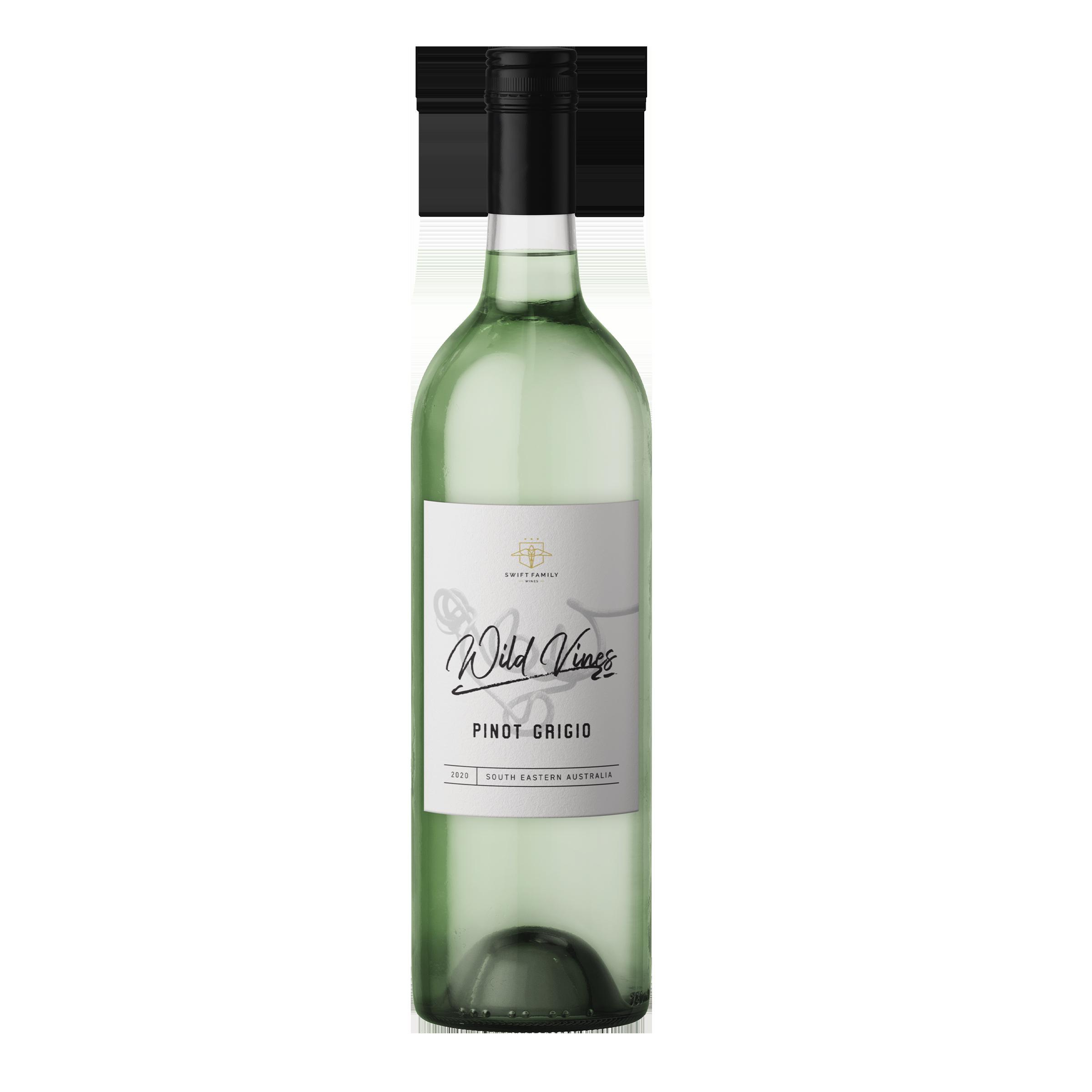 Wild Vines Pinot Grigio 750ml 2020