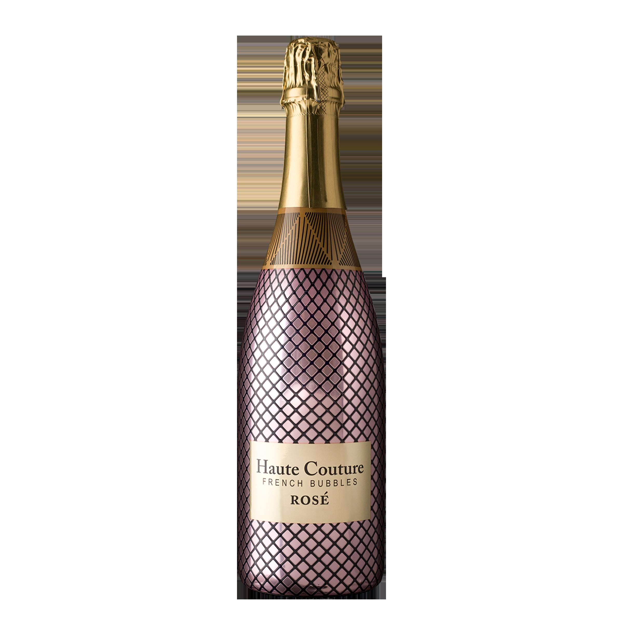 Haute Couture French Bubbles Rosé 750ml NV